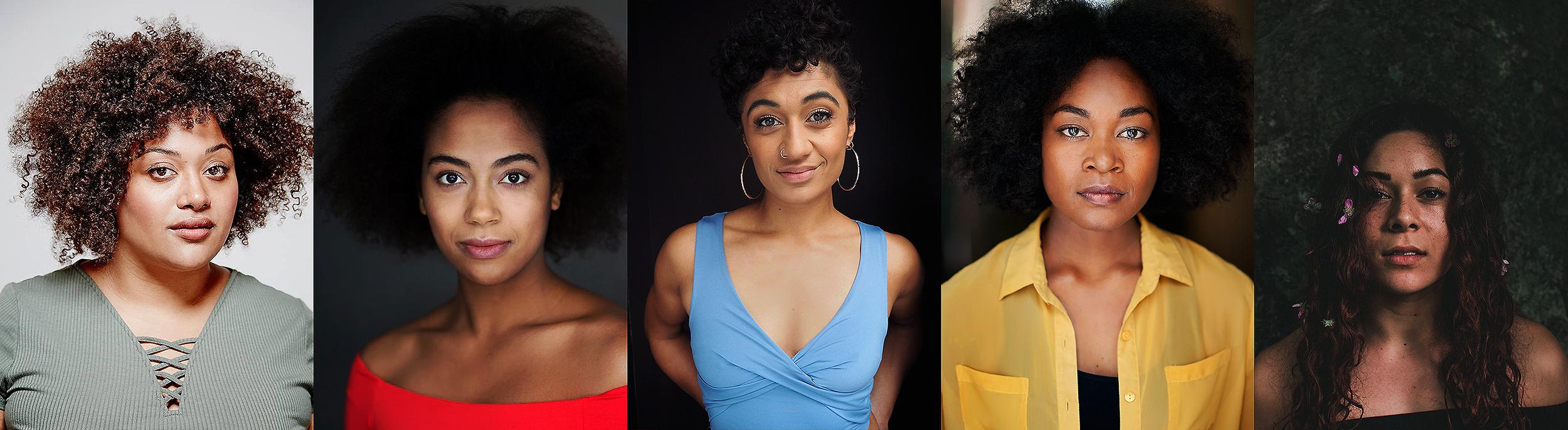 Brown Skin Girl cast members; Angela Sullen, Ayeesha Ash, Emily Havea, Assistant Director and Producer; Emele Ugavele, and Choreographer; Sela Vai
