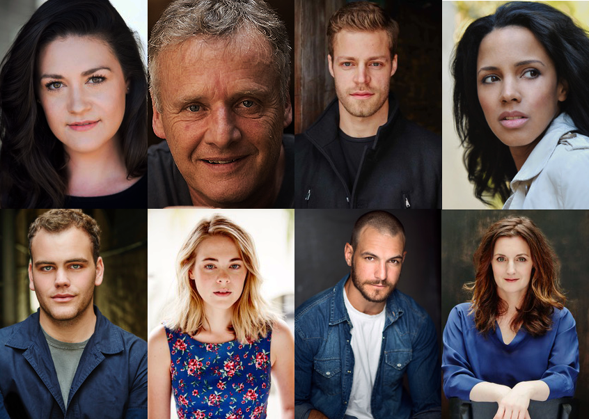 Fierce cast Lauren Richardson, Martin Jacobs, Felix Johnson, Chantelle Jamieson, Zelman Cressey-Gladwin, Stacey Duckworth, Andrew Shaw & Director Janine Watson