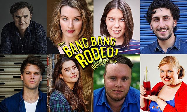 The BANG BANG RODEO IMPROV SHOW returns on Monday with a killer line-up of RACHAEL COLQUHOUN-FAIRWEATHER (NSW TheatreSports Cranston Cup Champion 2018), BRIDIE CONNELL (Whose Line Is It Anyway? Australia, National Theatresports Champion), JEROMAIA DETTO (Impro All-Stars), DARREN GILSHENAN (Here Come The Habibs, No Activity), PHILIPPE KLAUS (Wolf Creek), ANNA RENZENBRIK (Sydney Comedy Festival), JACK SCOTT (Hardball, The Bear Pack) & JANE WATT (Spamalot, Gypsy) / Tickets are selling fast for this one so you wanna book right now before you miss out! / Proudly presented by @generallegends and @janebwatt