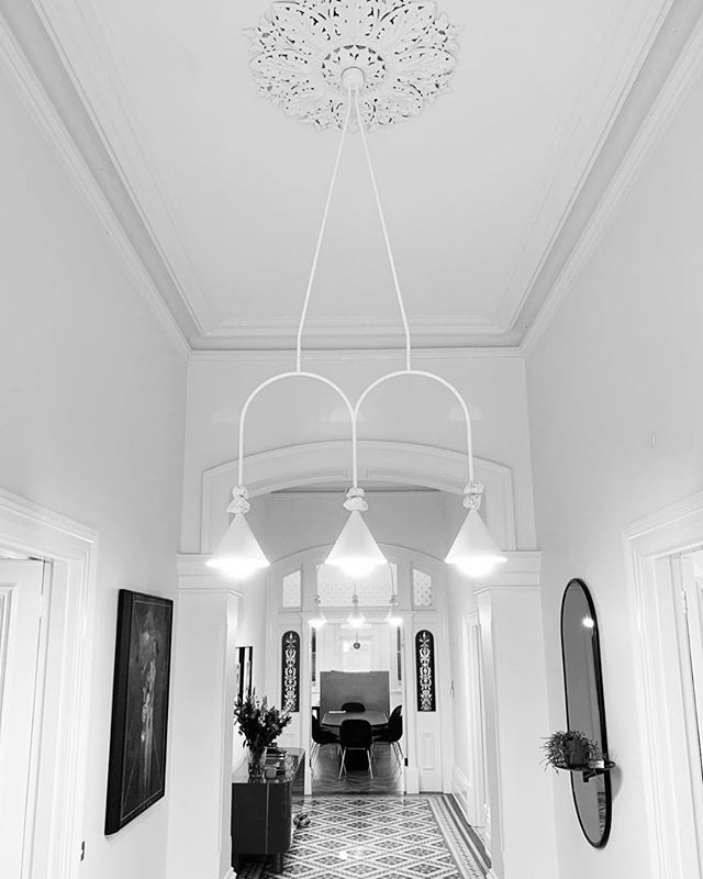 Our CONEHOME® lighting series in the double arch configuration with our special, special POPROCK® accessories (X 2). Love this job Installed by @oscarielectrical. Interior design by the brilliant @larrittevans. ⁠⠀ .⁠⠀ .⁠⠀ .⁠⠀ .⁠⠀ ⁠#lighting #light #interiordesign #design #homedecor #art #interior #home #decor #architecture #decoration #furnituredesign #interiors #designer #luxury #style #outdoorfurniture #love #inspiration #homedesign #marble #handmade #stone #modern #fashion #lifestyle #livingroom #love #table #color⁣⠀⁠⠀ ⁠⠀