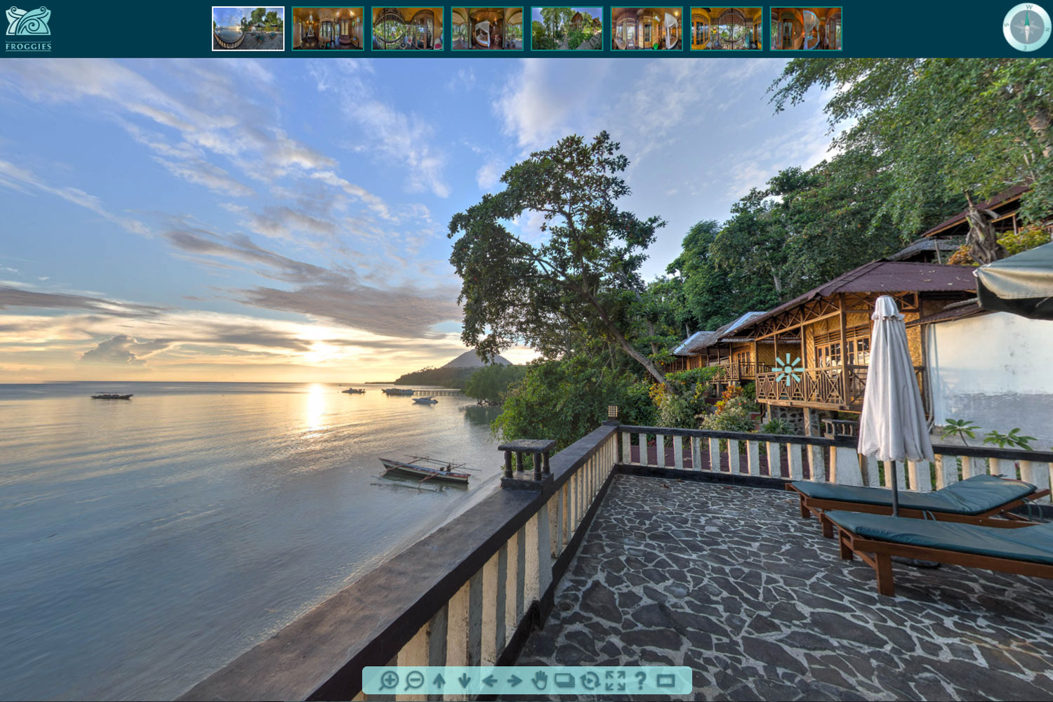 FROGGIES BUNAKEN VIRTUAL TOUR