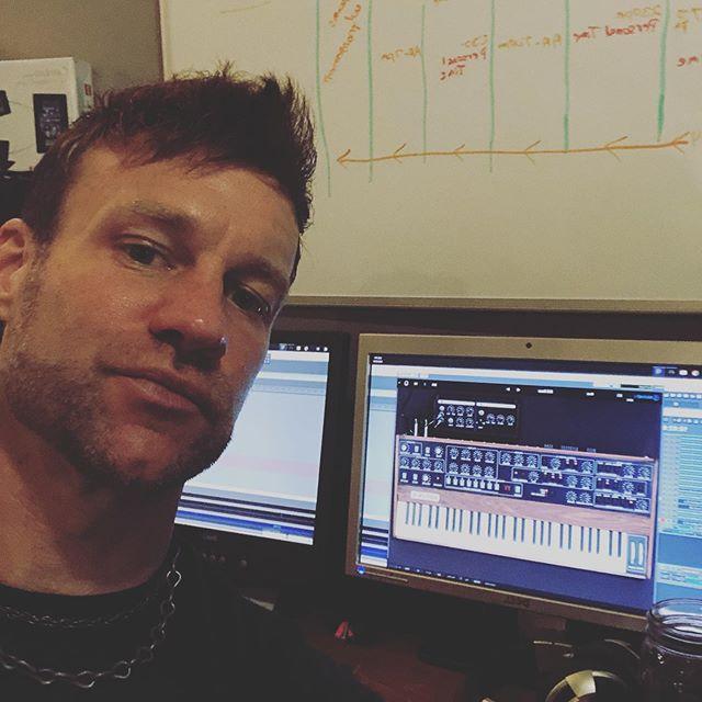 Just me, my synthesizer, and another Manic Monday. #synthesizer #nashville #prophetv #arturia #iwantarealone #manicmonday