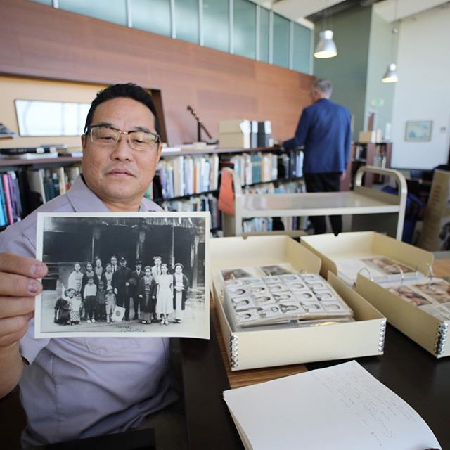 """Alan Nakagawa is collaborating with PRAXIS and the University's Donald R. & Beverly J. Gerth Archives and Special Collection's newly rediscovered, and expansive Ninomiya Photo Studio archive. The project will culminating with a solo exhibition titled """"Unfinished Proof Ninomiya / Alan Nakagawa"""" @csudhgallery  _ @csudominguezhills @csudh.art.design @csudhgallery @csudhlib #csudh #csudhartanddesign #csudhpraxis #alannakagawa #ninomiyaphotoarchives"""