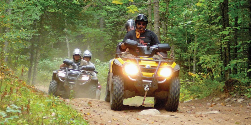 ATV Trails throughout Polk County
