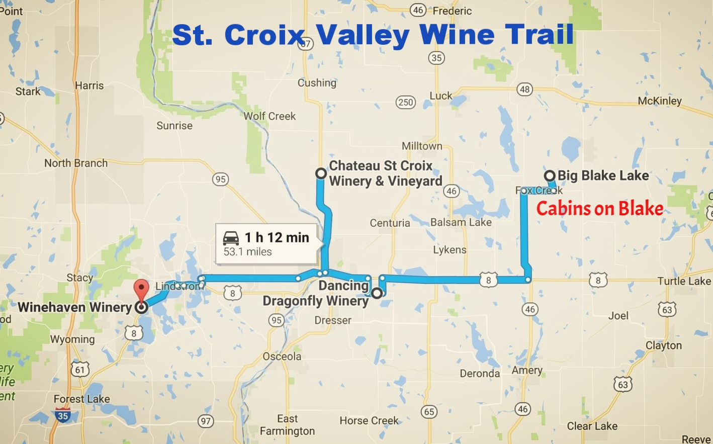 St Croix Valley Wine Trail