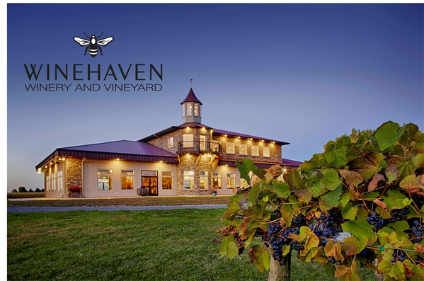 Winehaven Winery- Chisago City, MN. Beautiful location!
