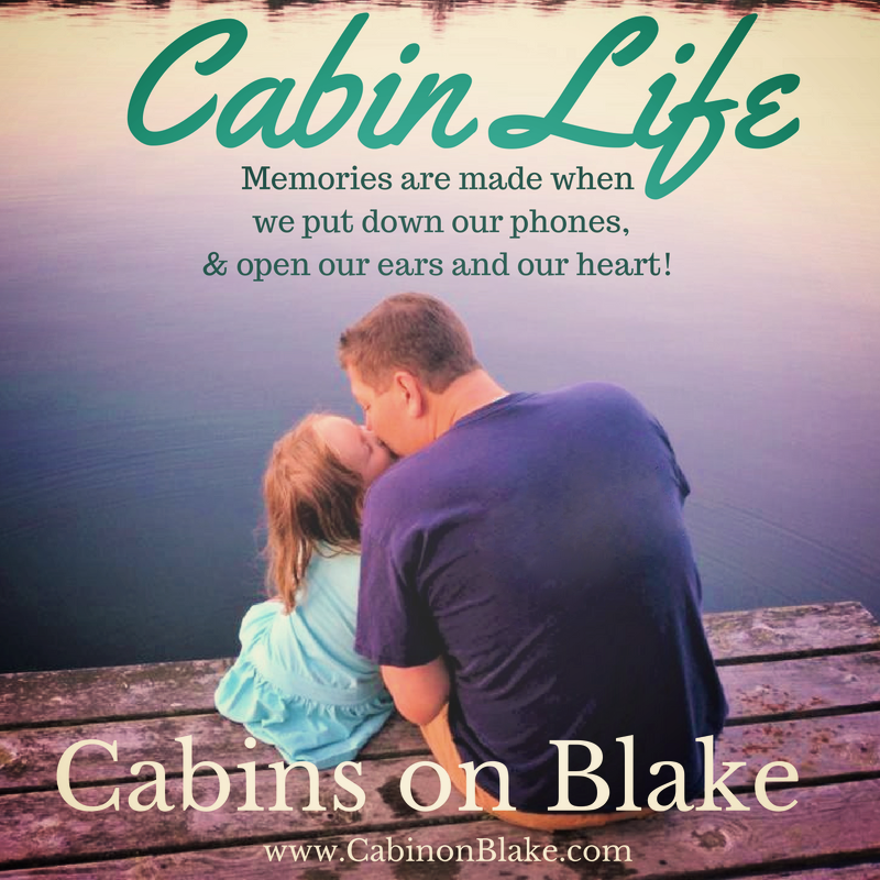 Make cabin memories