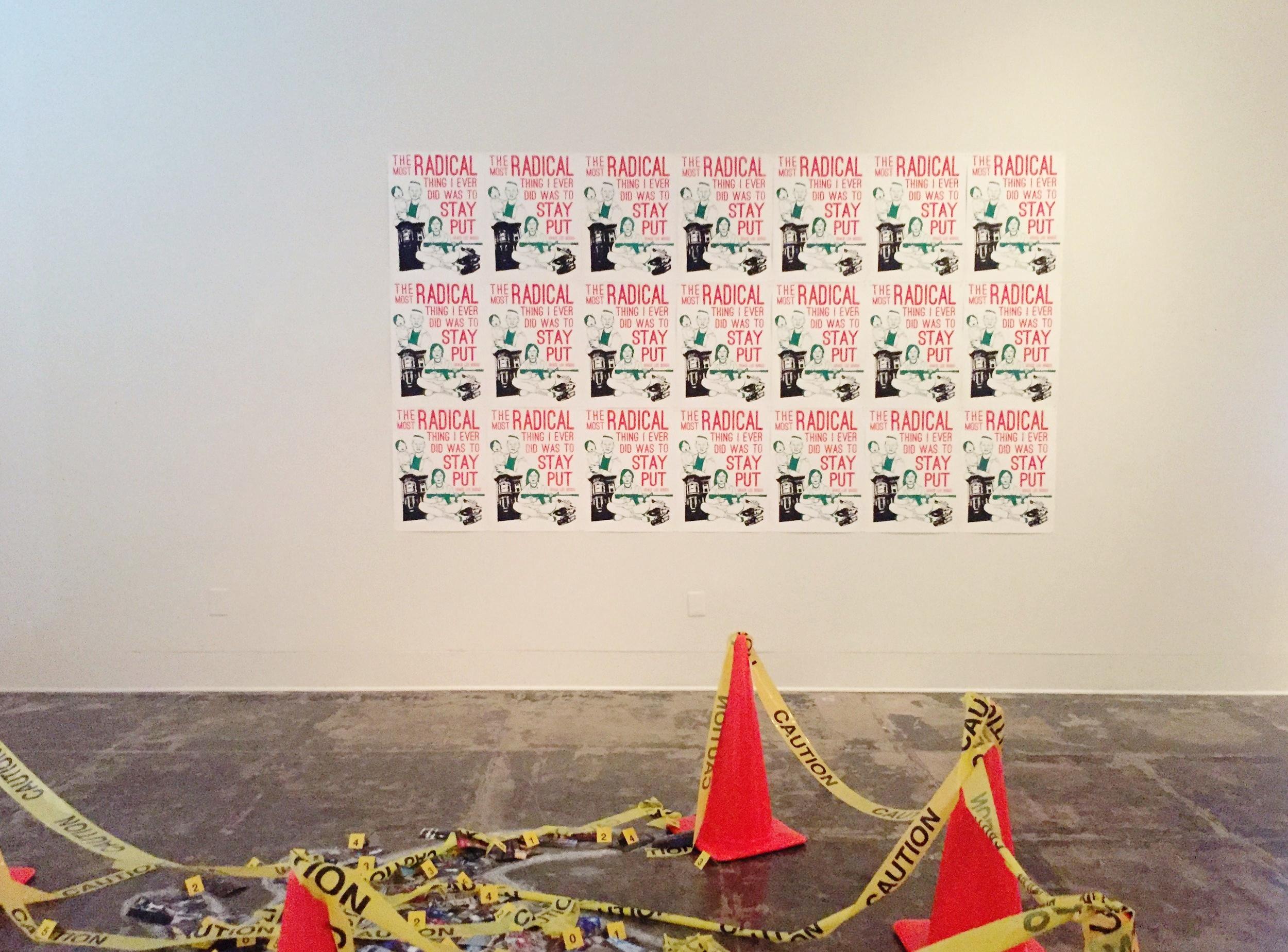 RADICAL THING (installation)  2016  Stanford Art Gallery