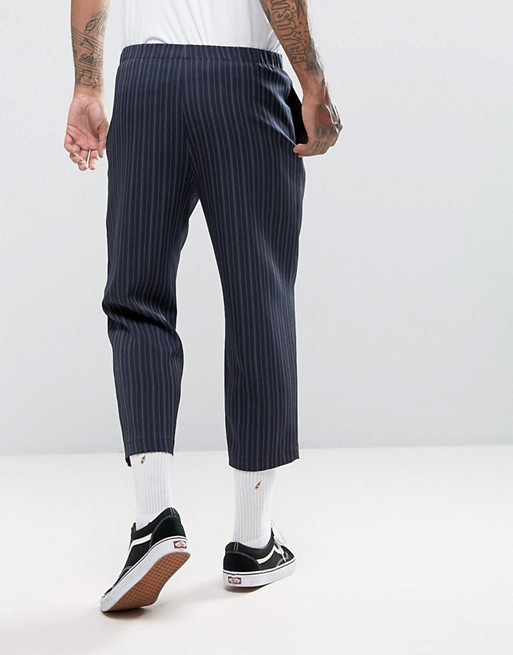 Striped Pants - Stripes are in, I repeat stripes are in ! Go get you a pair of striped pants to upgrade your style on campus.