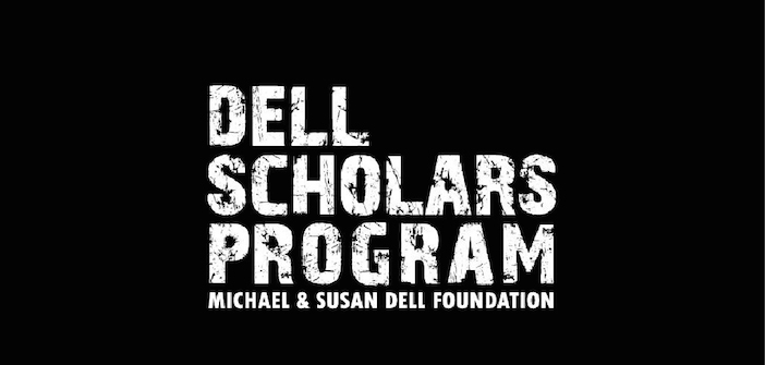 Dell Scholarship - A $20,000 scholarship plus a laptop awarded over the course of 4 years. The Dell Scholars Program is for students who are active in extra curricular activities and examplifies relentlessness.