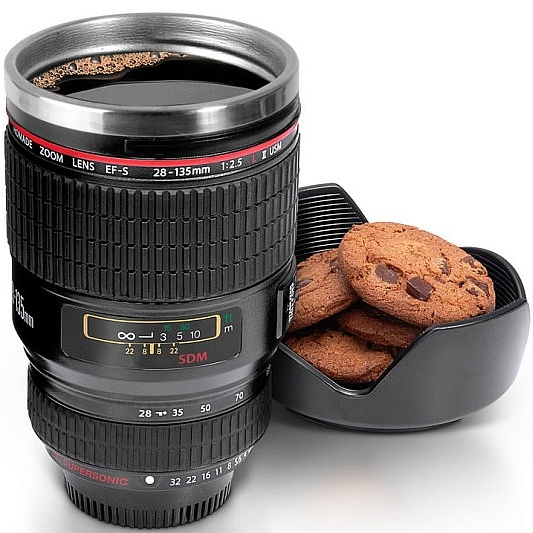 Camera-Lens Coffe Mug -