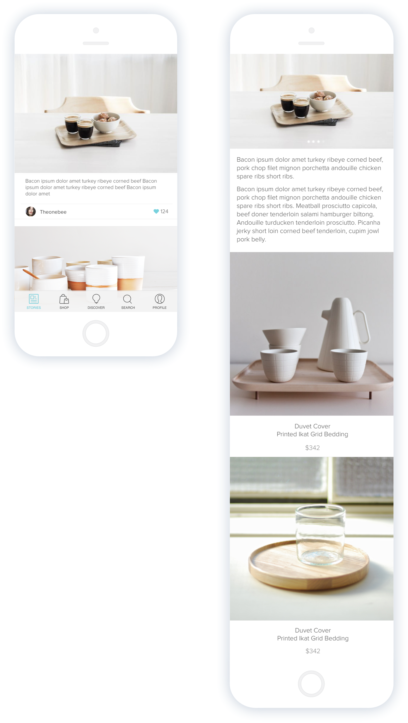 Lux App - Stories