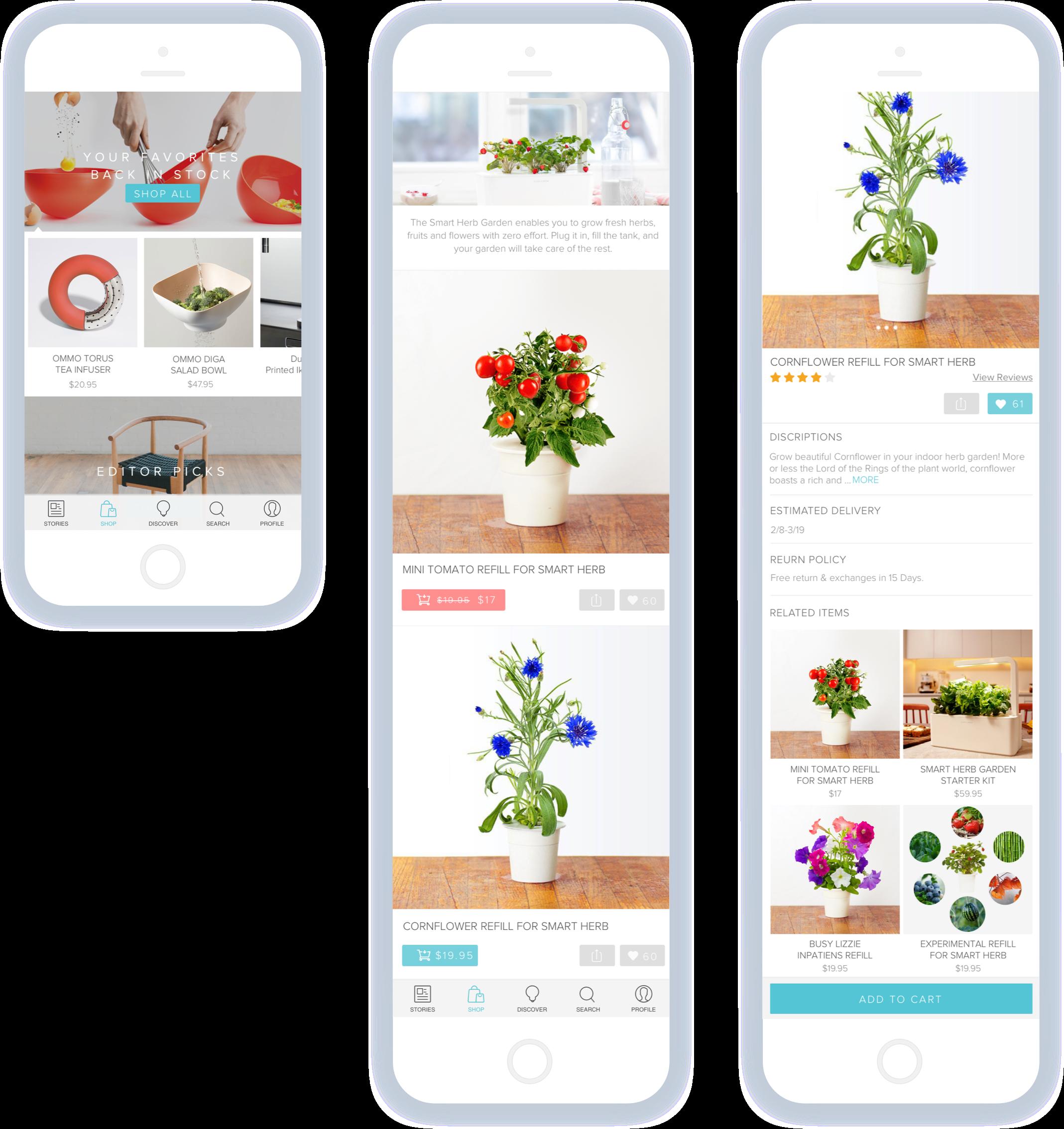 Lux App - Shop
