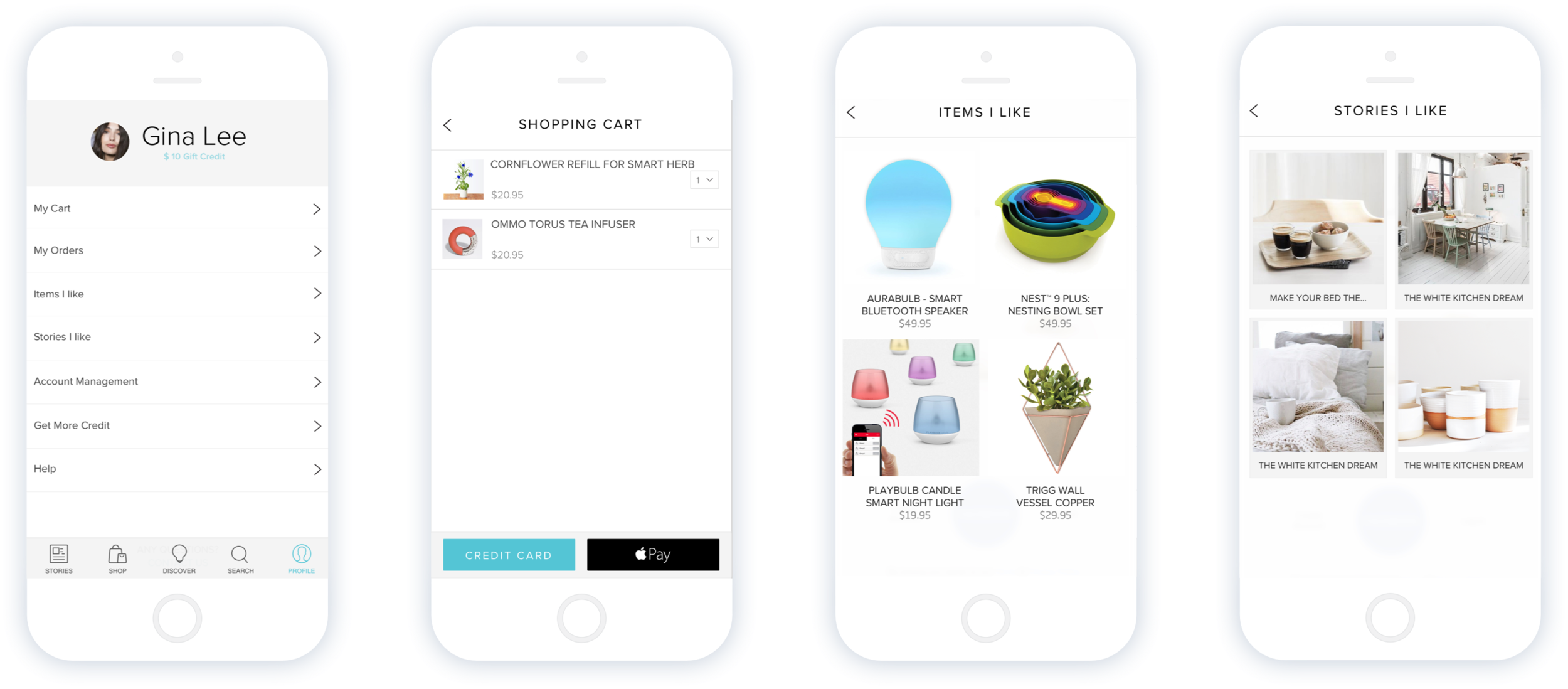 Lux App - Profile