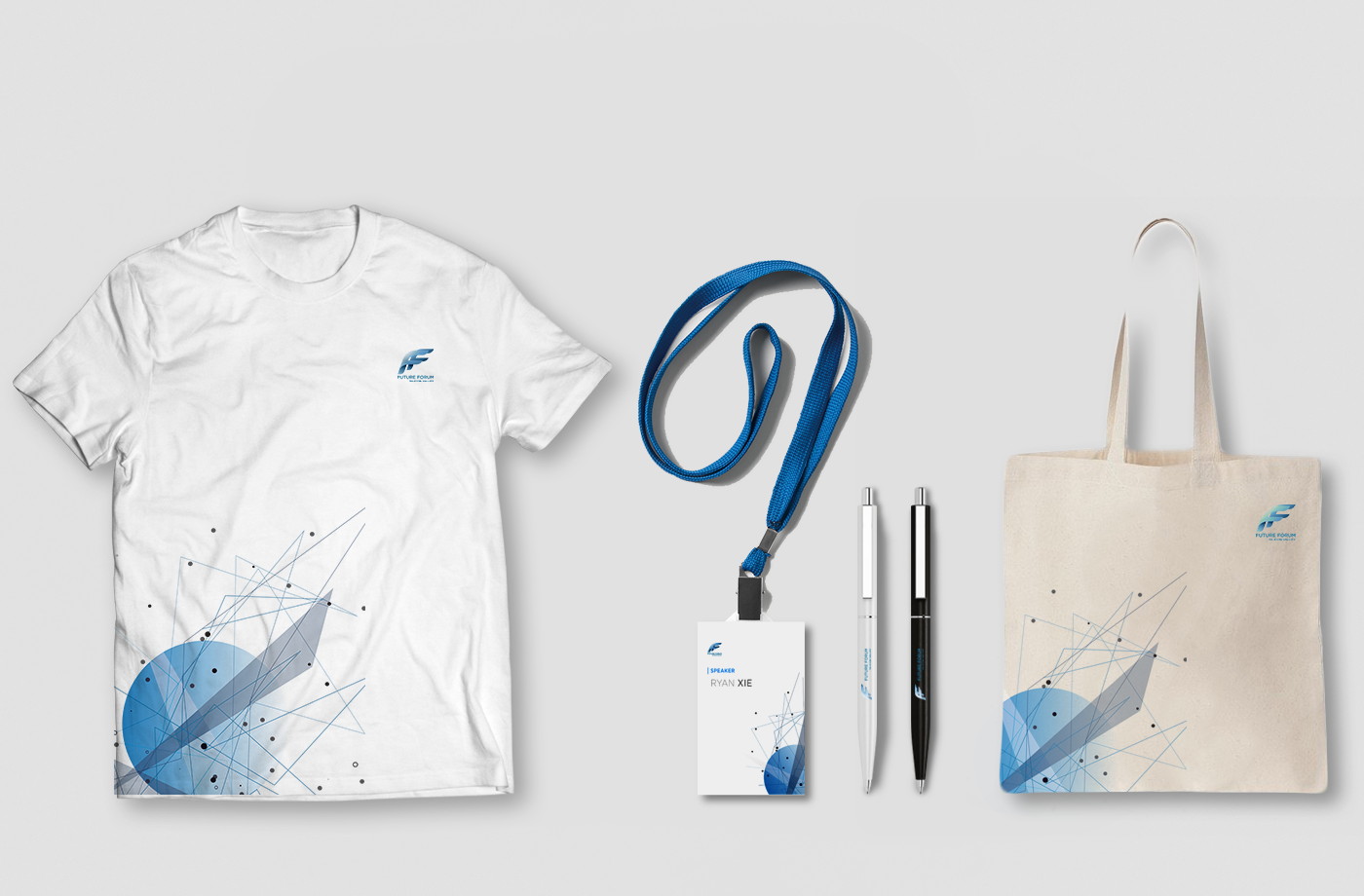 Event T-shirt, Name Tag, Pen and Canvas Bag