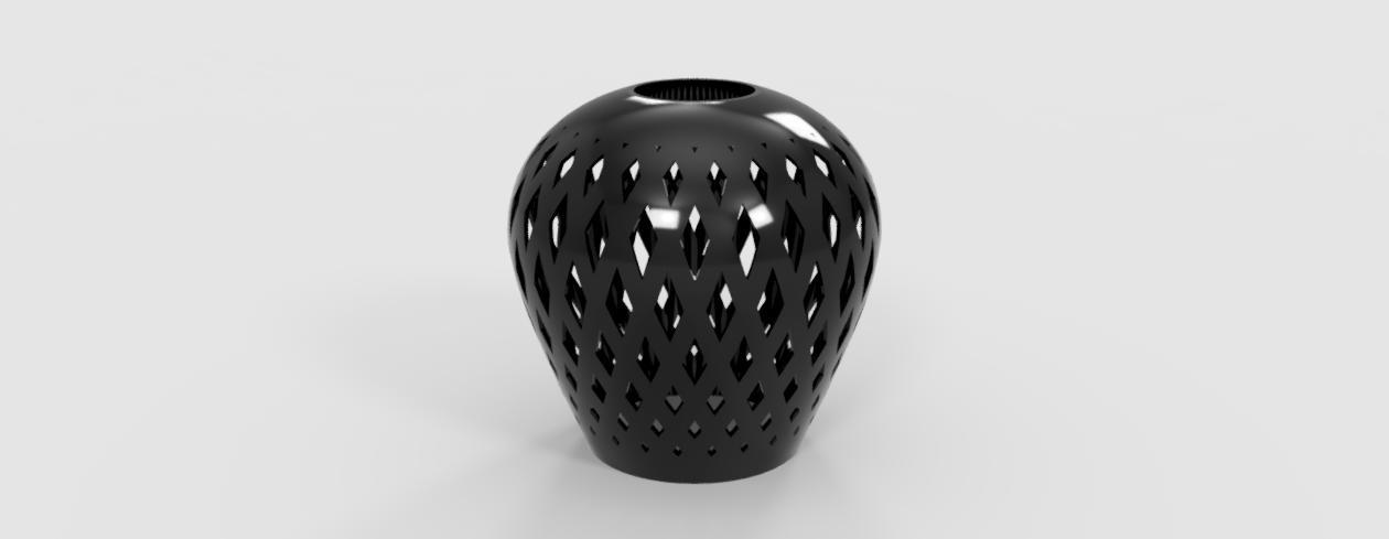 Flower Vase, using Fusion 360