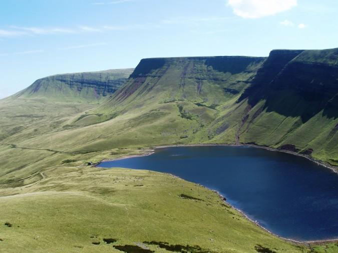 Llyn Y Fan Fach lake as it is today