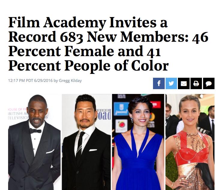 Big news. BFI New Members shake up.