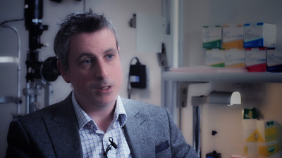 Watch Niall Patton talk about surgical intervention for floaters