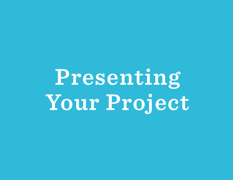 A Design Thinking team from the Chicago Public Library created  a video of their final project presentation . It provides an example of how to structure your story.