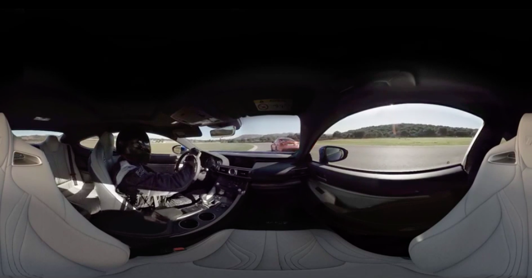VR / 360 Shoot for Lexus Virtual Drive
