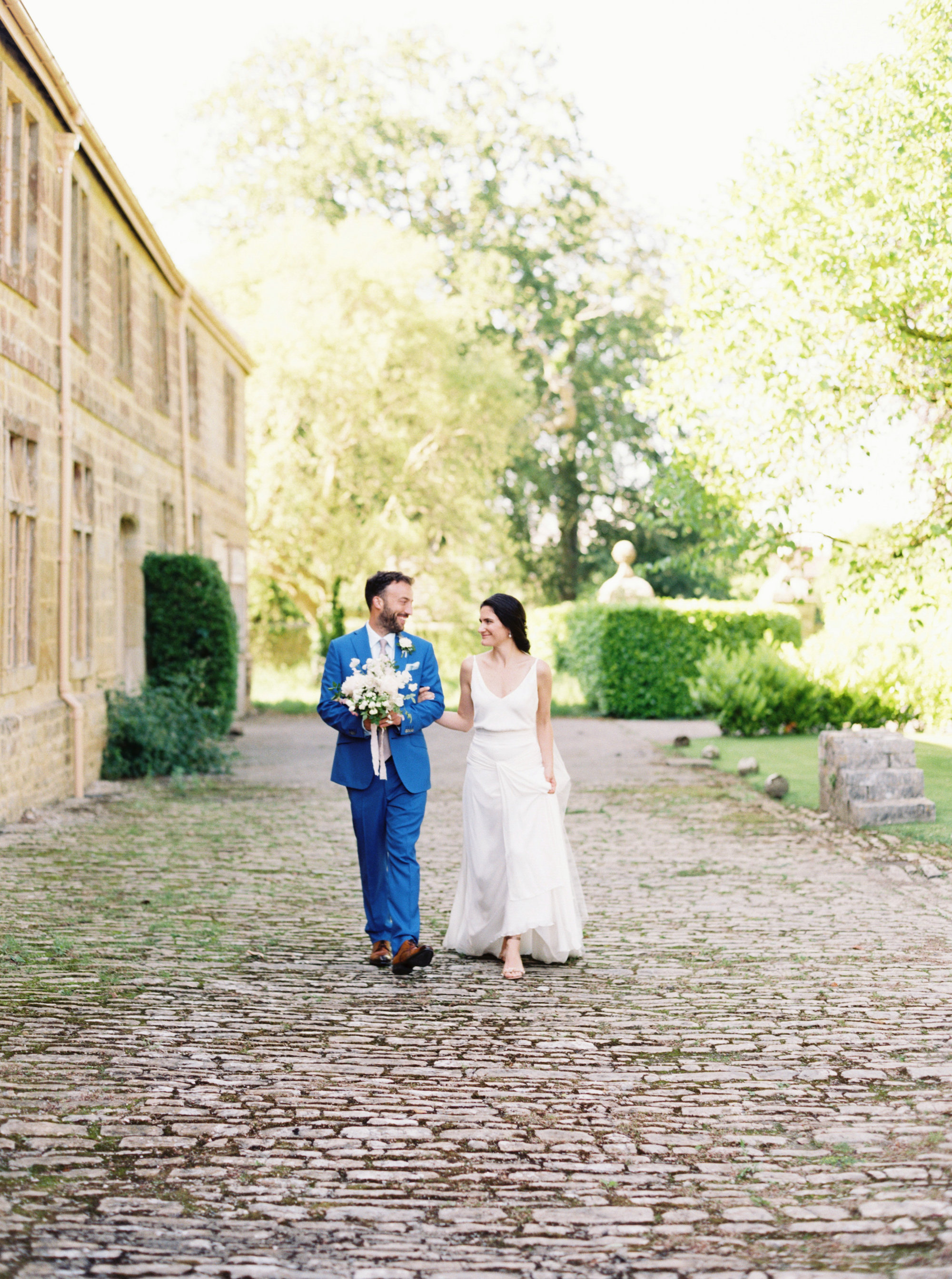 Luxury Wedding Planner UK | Jennifer & Timothy's English Country Manor Wedding | Soft Pink Pale Blue White and Silver Toned Green Neutral Tones American Bride North Cadbury Court | Nicole Colwell Photography  0037.jpg