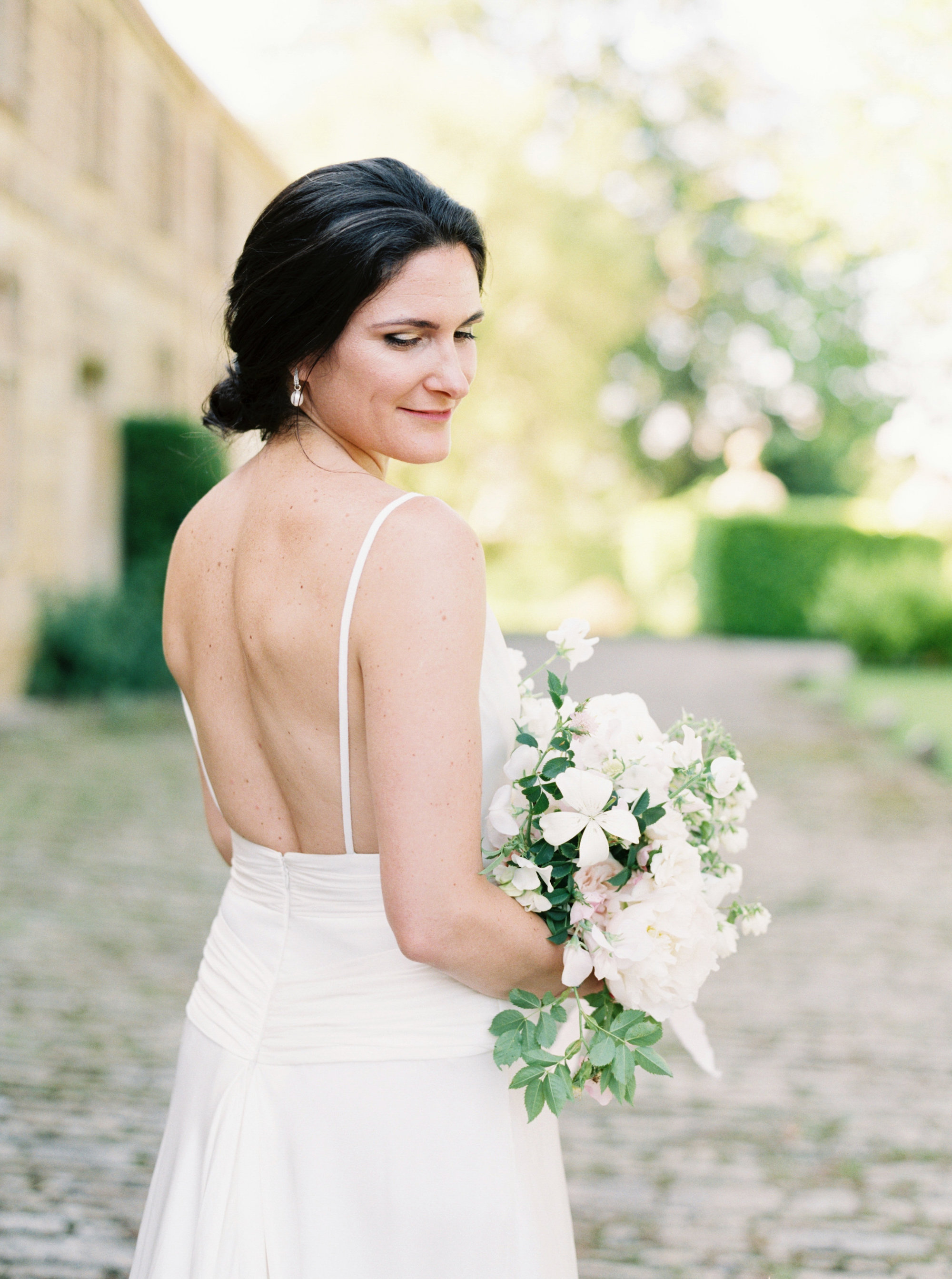 Luxury Wedding Planner UK | Jennifer & Timothy's English Country Manor Wedding | Soft Pink Pale Blue White and Silver Toned Green Neutral Tones American Bride North Cadbury Court | Nicole Colwell Photography0008.jpg
