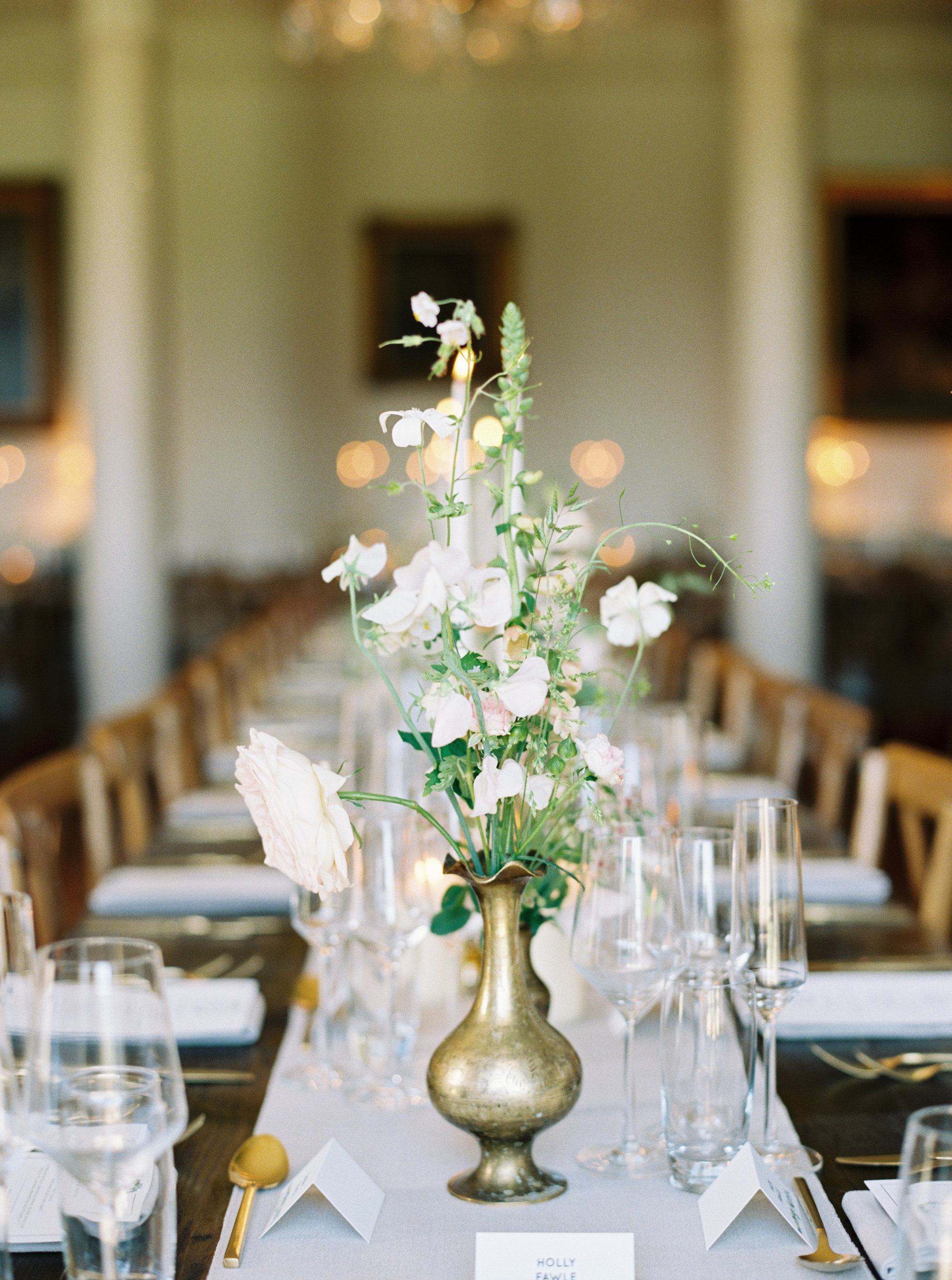 Luxury Wedding Planner UK | Jennifer & Timothy's English Country Manor Wedding | Soft Pink Pale Blue White and Silver Toned Green Neutral Tones American Bride North Cadbury Court | Nicole Colwell Photography 1201.jpg