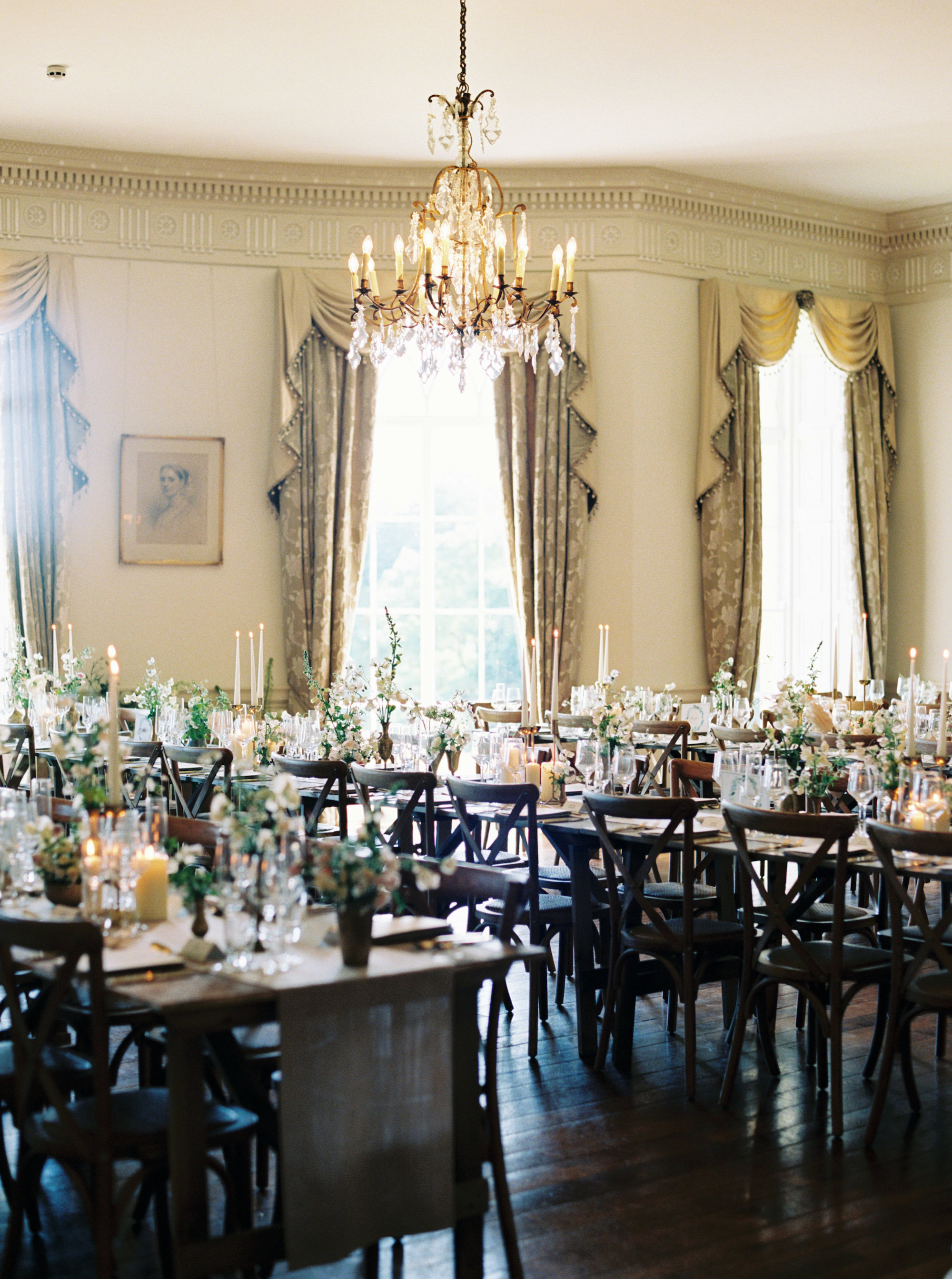 Luxury Wedding Planner UK | Jennifer & Timothy's English Country Manor Wedding | Soft Pink Pale Blue White and Silver Toned Green Neutral Tones American Bride North Cadbury Court | Nicole Colwell Photography 1205.jpg