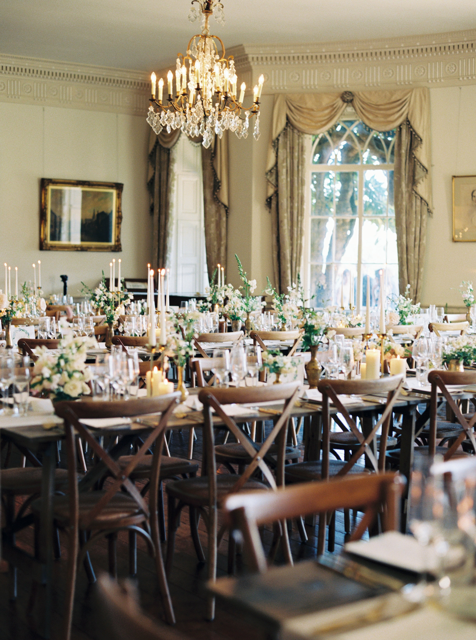Luxury Wedding Planner UK | Jennifer & Timothy's English Country Manor Wedding | Soft Pink Pale Blue White and Silver Toned Green Neutral Tones American Bride North Cadbury Court | Nicole Colwell Photography 1215.jpg