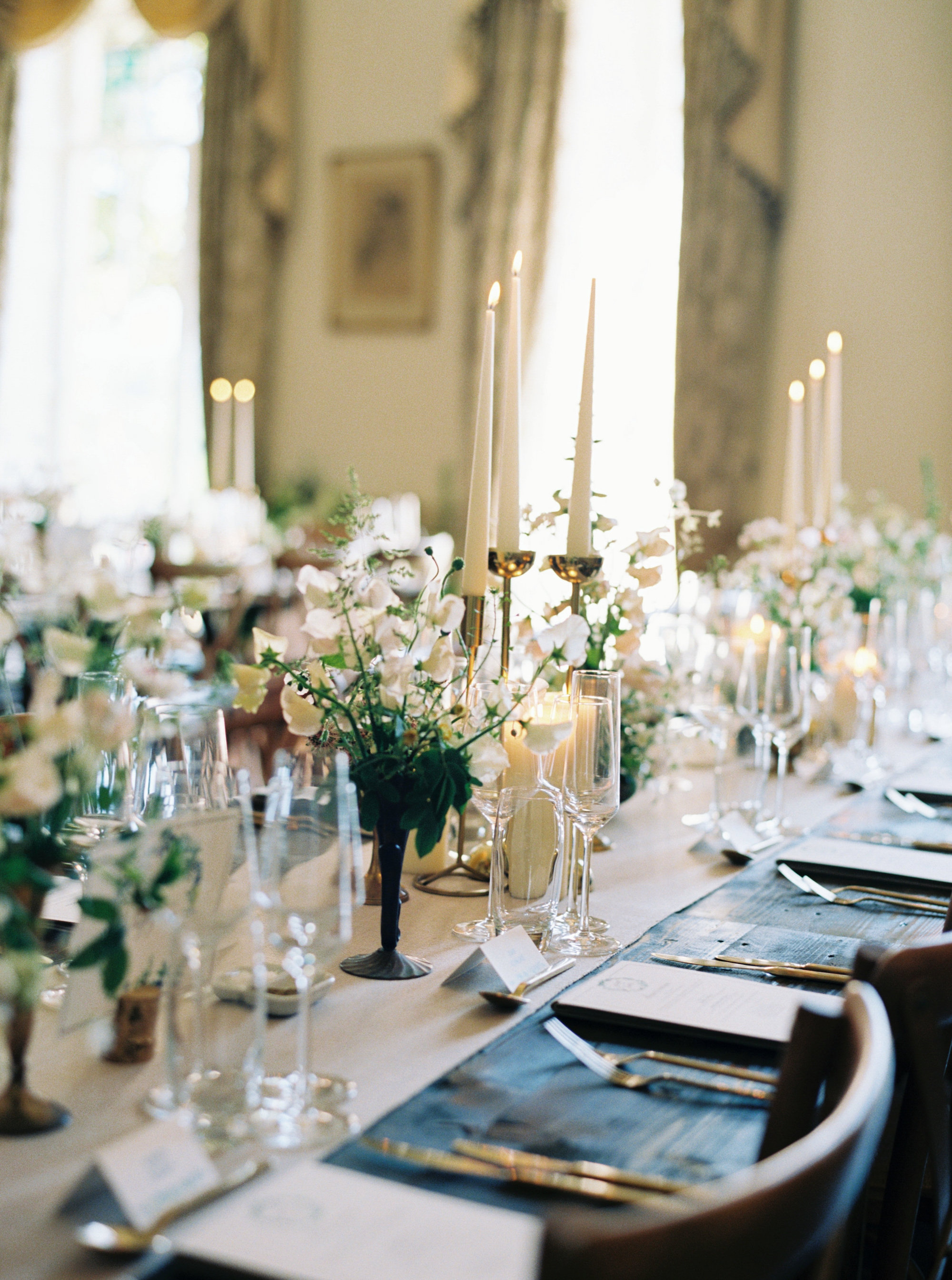 Luxury Wedding Planner UK | Jennifer & Timothy's English Country Manor Wedding | Soft Pink Pale Blue White and Silver Toned Green Neutral Tones American Bride North Cadbury Court | Nicole Colwell Photography 1219.jpg