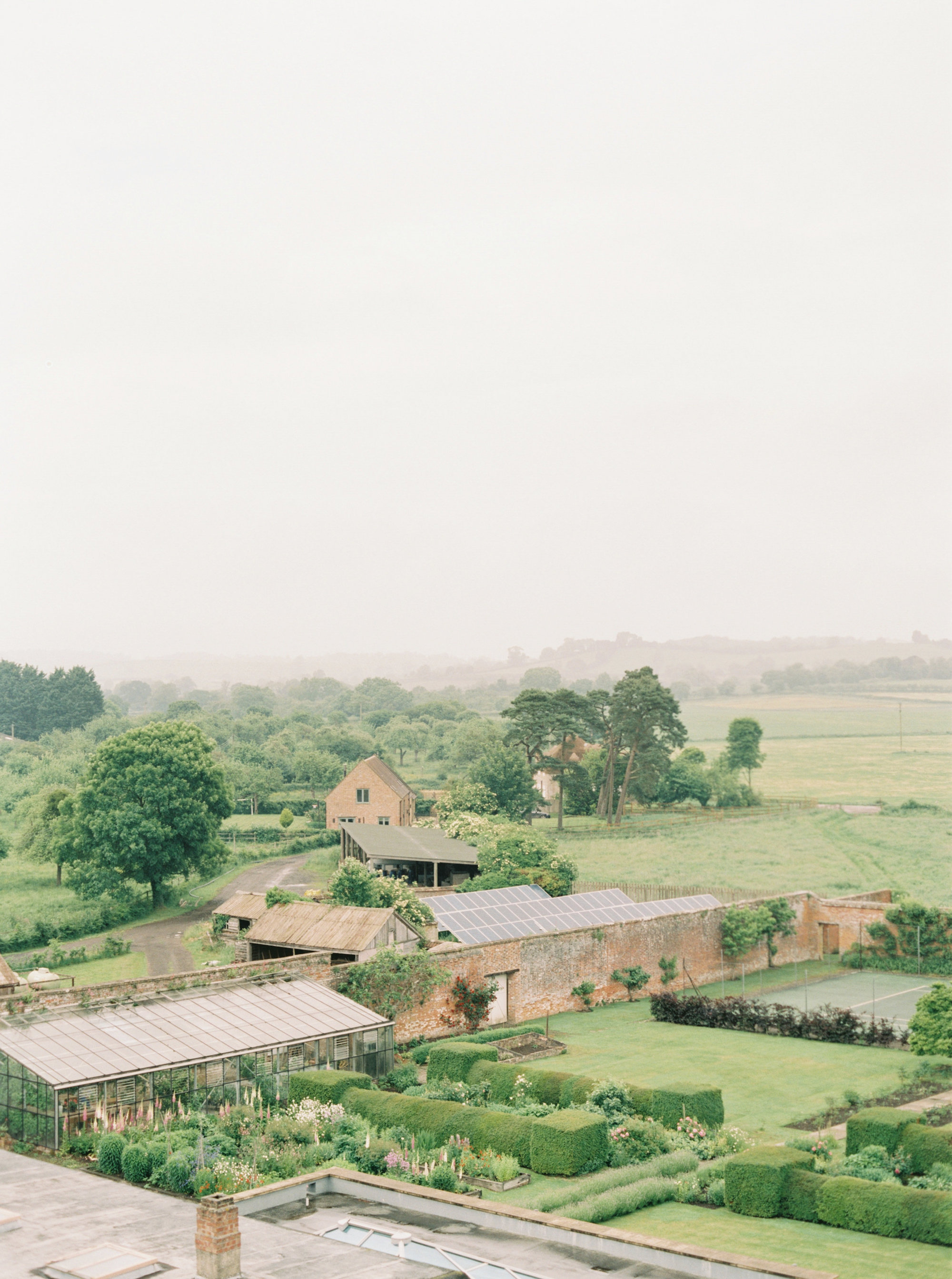 Luxury Wedding Planner UK | Jennifer & Timothy's English Country Manor Wedding | Soft Pink Pale Blue White and Silver Toned Green Neutral Tones American Bride North Cadbury Court | Nicole Colwell Photography 0412.jpg