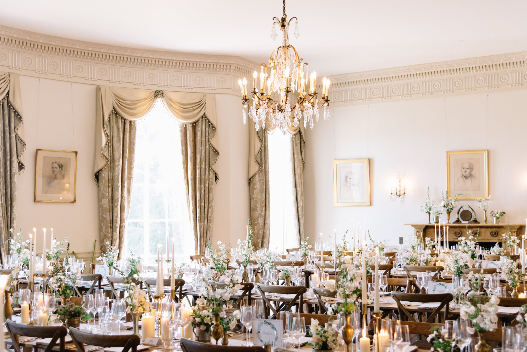 Luxury Wedding Planner UK | Jennifer & Timothy's English Country Manor Wedding | Soft Pink Pale Blue White and Silver Toned Green Neutral Tones American Bride North Cadbury Court | Nicole Colwell Photography 1281.jpg