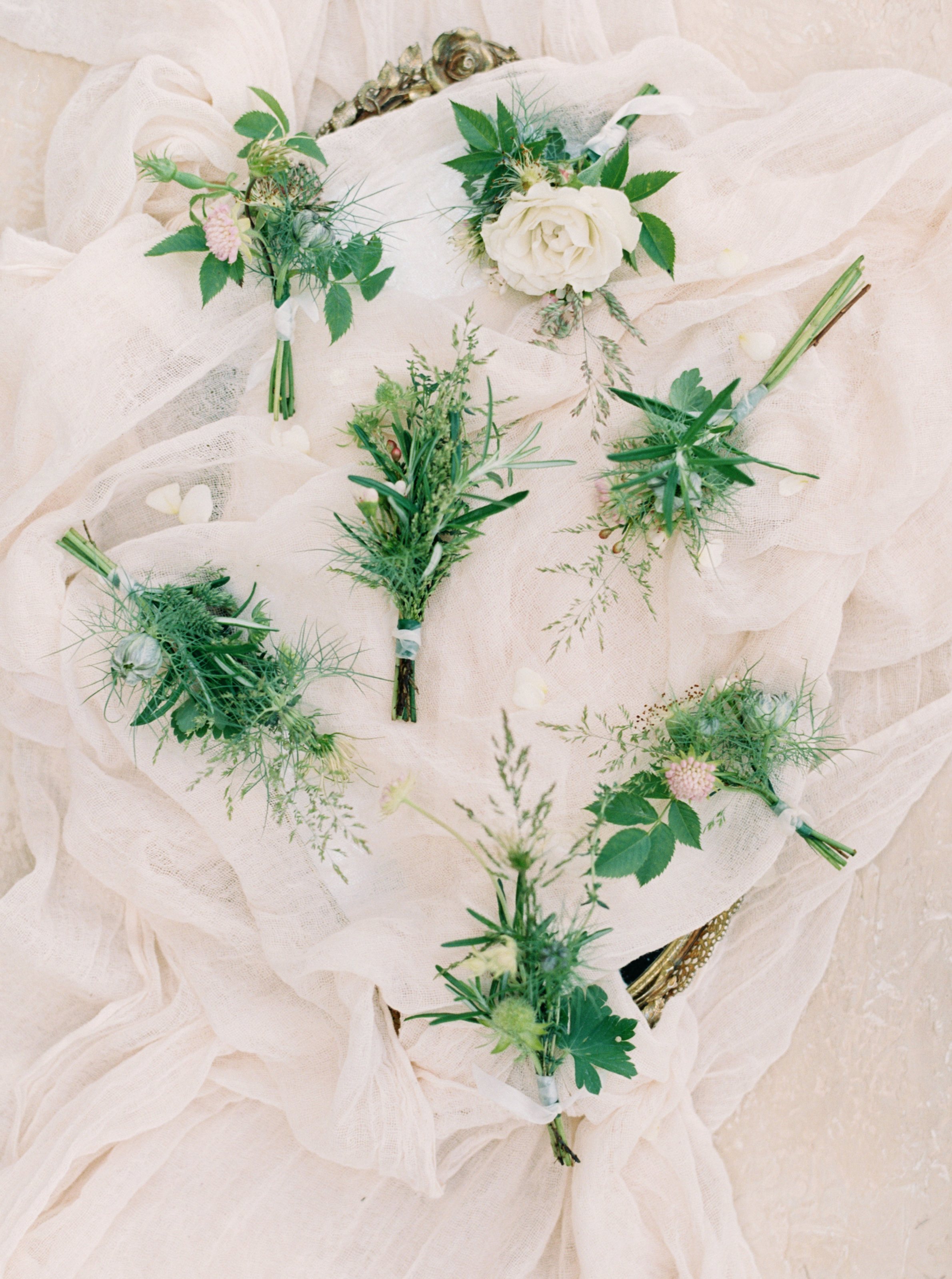 Lily & Sage_Luxury Wedding Planner UK_English Country House Wedding Boutonnières Buttonholes White and Silver Toned Green Neutral Wedding North Cadbury Court_Nicole Colwell Photography-0497.jpg