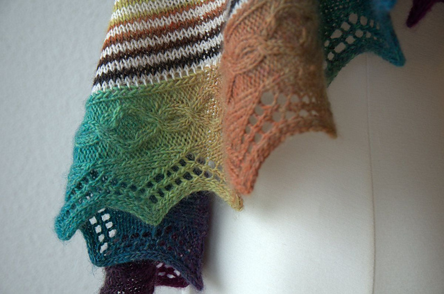 Knitted on edge tutorial | lace knitting | knitting pattern