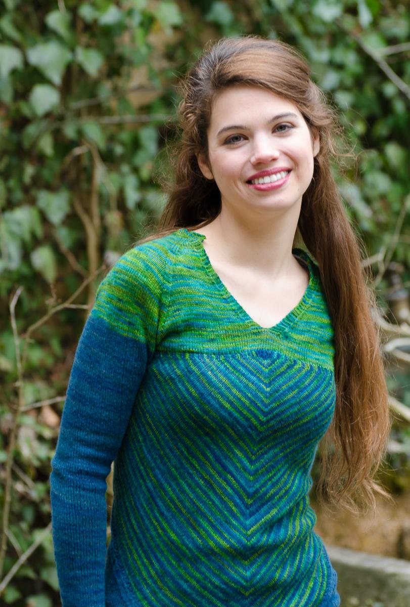 Autumn knitting patterns -Victoria Sweater