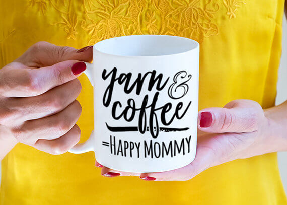 15 Christmas Gift Ideas For Knitters - mug