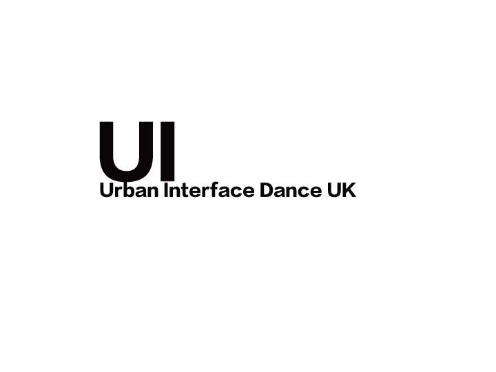 Urban Interface Dance UK: Urban Interface Dance UK logo. Client testimonial for Gawz - a global dance entertainment agency
