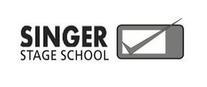 Singer Stage School: Singer Stage School logo. Client testimonial for Gawz - a global dance entertainment agency