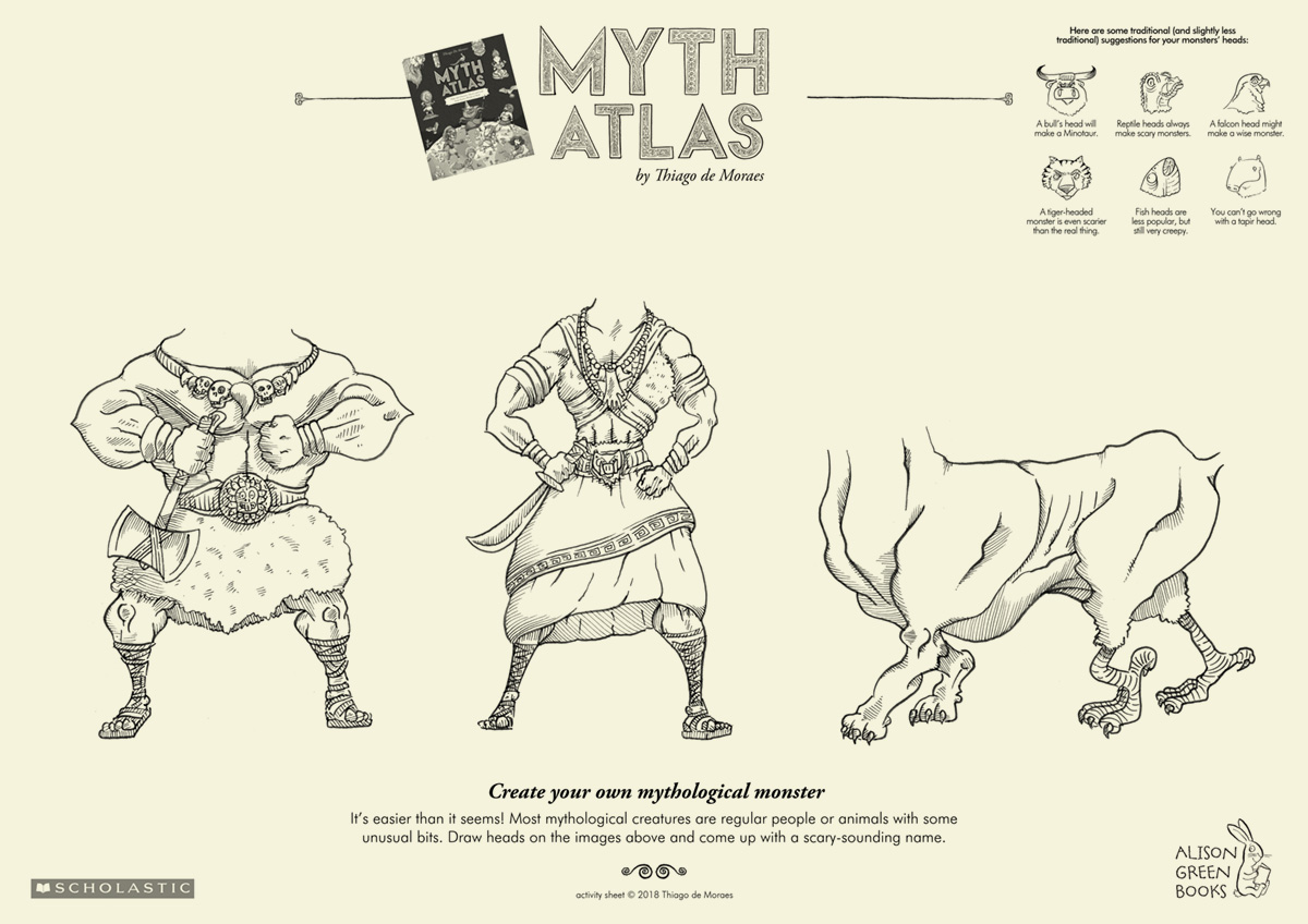 Create your own mythical beast