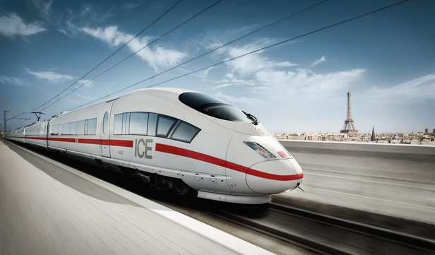 Deutsche Bahn management board presentation concept and design. Bijan 2018.