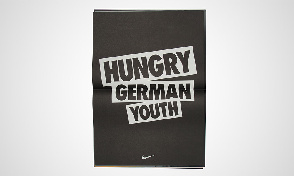 Nike Hungry German Youth campaign. Paul 2012.
