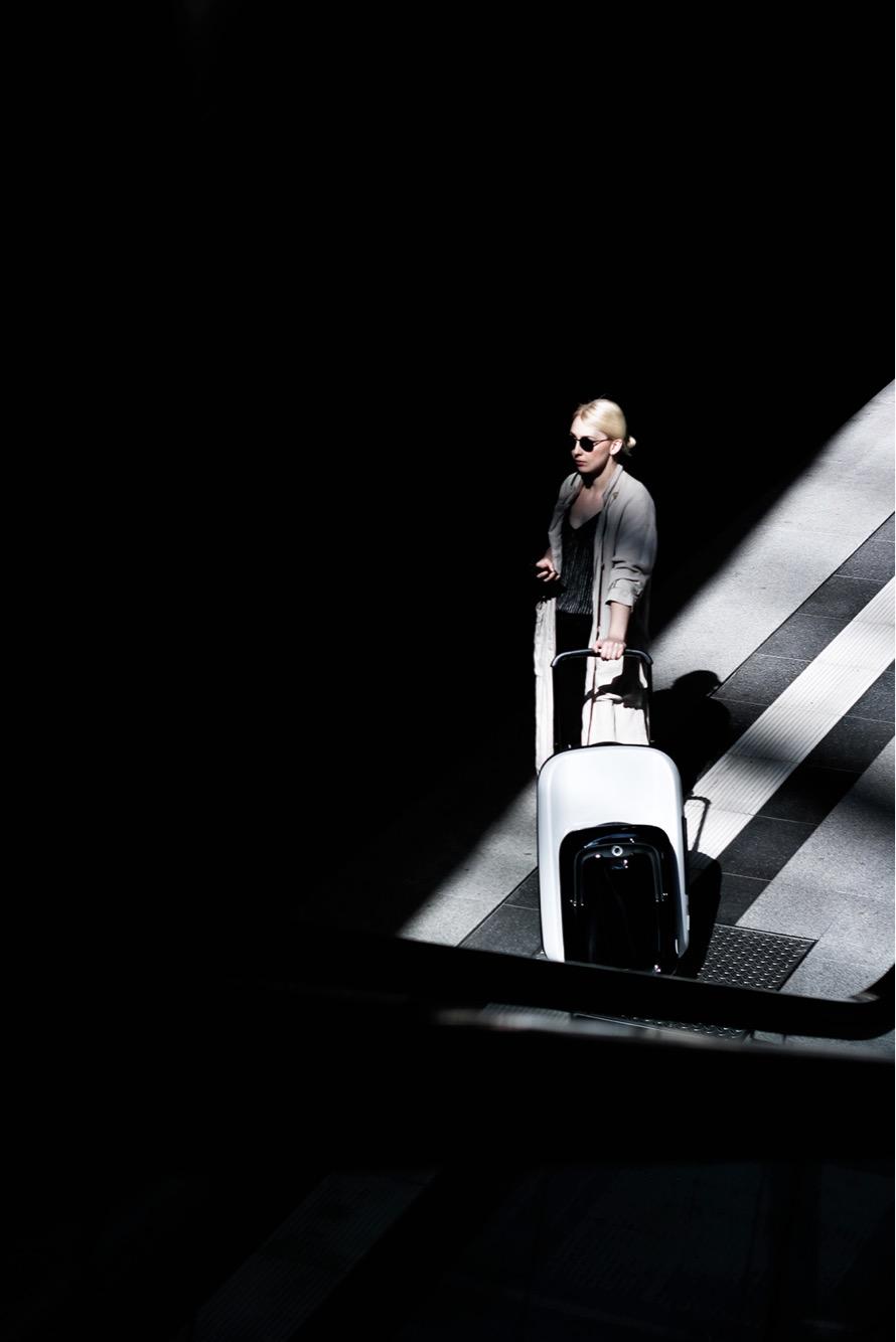 Bugaboo Luggage, creative direction, Leonie 2017.