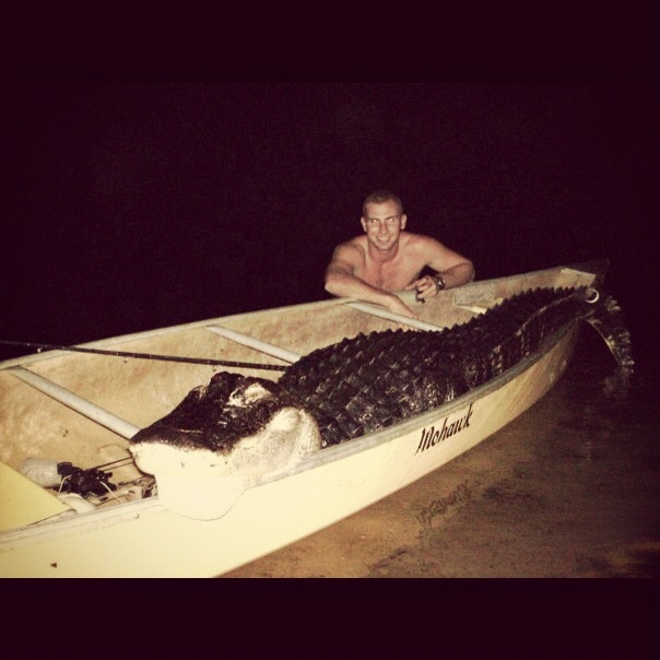 Nice 10 footer in a canoe
