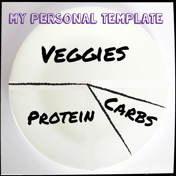 Personalize your weight loss plate to lose WEight the Easy Way | Make Losing Weight Simple with this Easy Formula | www.realhealthyhabits.com