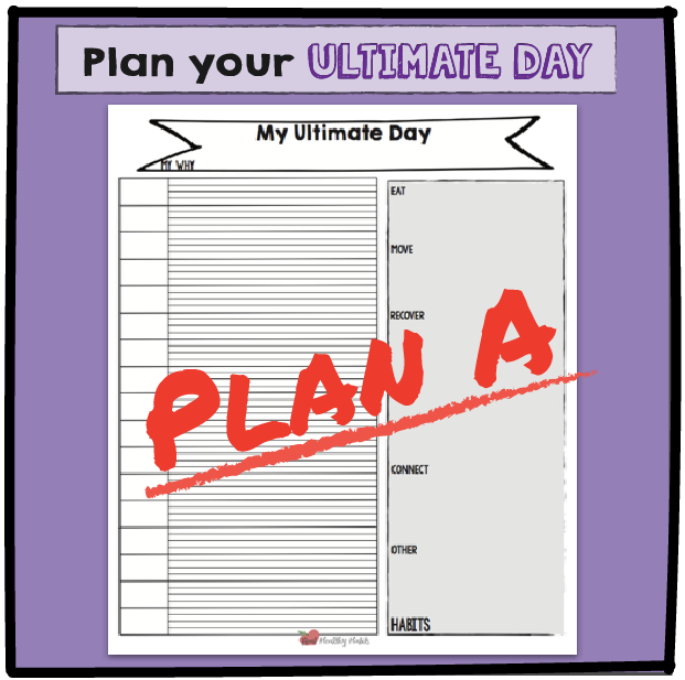 Plan your Ultimate Weight Loss Day once to get your weight loss habits worked into your day. Then use that pattern to every day to avoid willpower burnout. | Plan Your Ultimate Weight Loss Day | Lose Weight Differently--without Dieting | www.realhealthyhabits.com