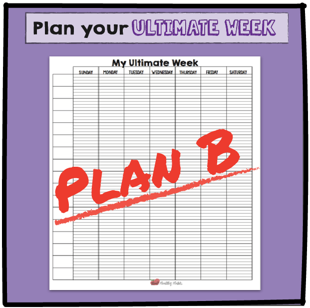 Plan your Ultimate Weight Loss Day and Week once to get your weight loss habits worked into your day. Then use that pattern to every day to avoid willpower burnout. | Plan Your Ultimate Weight Loss Day | Lose Weight Differently--without Dieting | www.realhealthyhabits.com