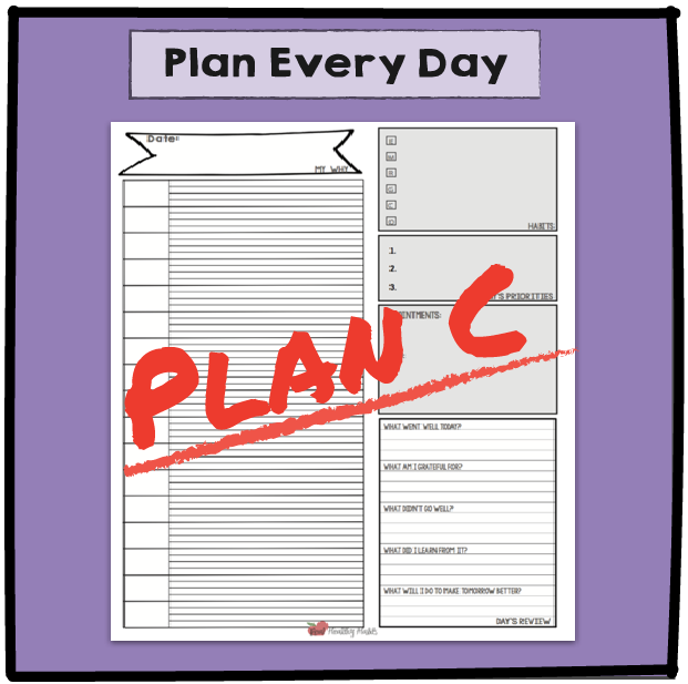 Plan your Ultimate Weight Loss Day once then make changes day to day to get your weight loss habits worked into your day. Then use that pattern to every day to avoid willpower burnout. | Plan Your Ultimate Weight Loss Day | Lose Weight Differently--without Dieting | www.realhealthyhabits.com