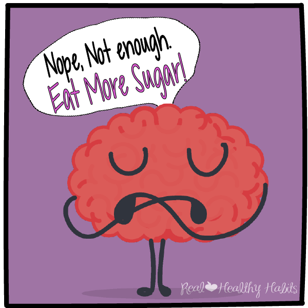 "My brain telling me I need to eat more sugar! | How to Achieve the ""No Candy"" Halloween Miracle 