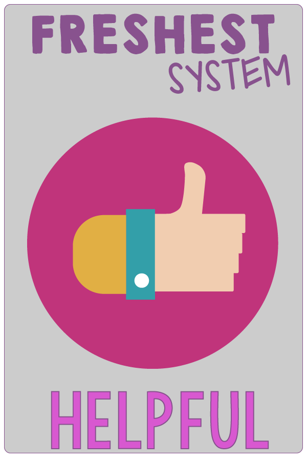 H is for Helpful. SMART Goals Aren't Enough. You Need Systems to Finally Reach Your Health and Weight Loss Goals. And, Those Systems Need to Be the FRESHEST. | Systems Are Where It's At for Health and Weight Loss Goals | www.realhealthyhabits.com